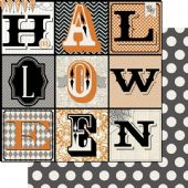 "Teresa Collins - Masquerade Party  Cardstock 12x12"" - Halloween Banner - MP1003"